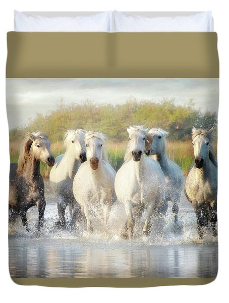 Wild Friends Duvet Cover