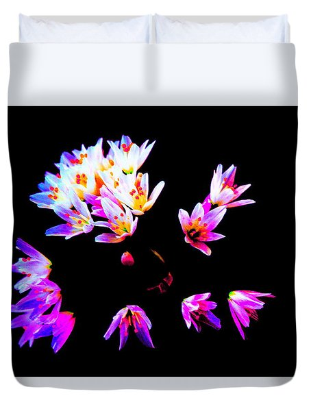Wild Garlic Duvet Cover