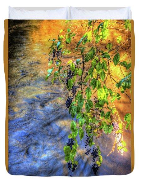 Wild Grapes Duvet Cover