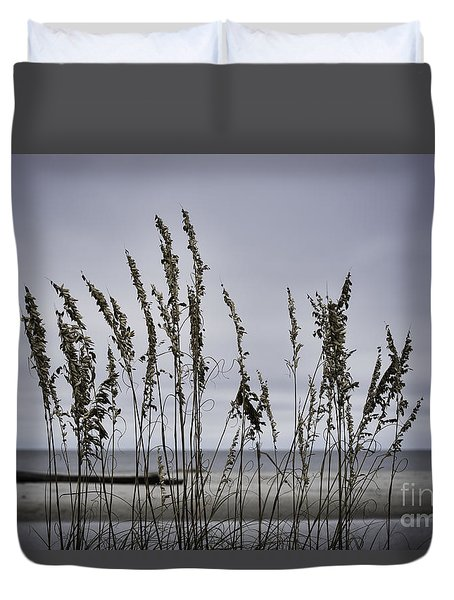 Wild Grasses Duvet Cover by Judy Wolinsky