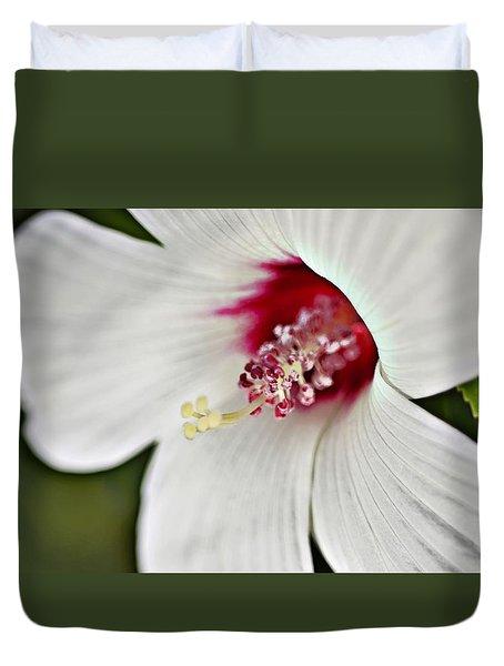 Wild Hibiscus Moscheutos_2a Duvet Cover