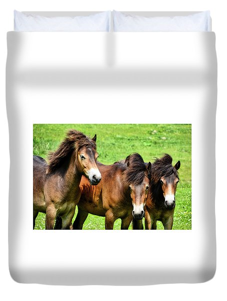 Wild Horses 2 Duvet Cover