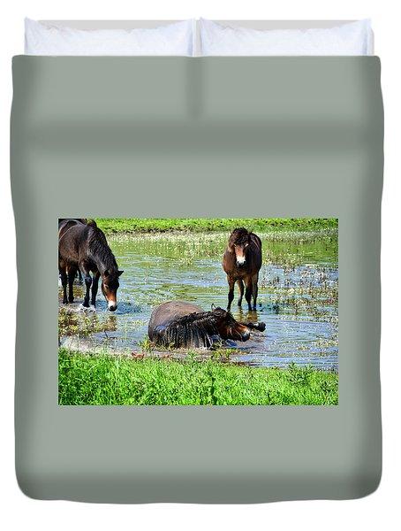 Wild Horses 3 Duvet Cover