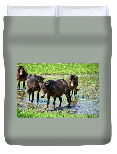 Wild Horses 4 Duvet Cover
