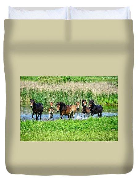 Wild Horses 6 Duvet Cover