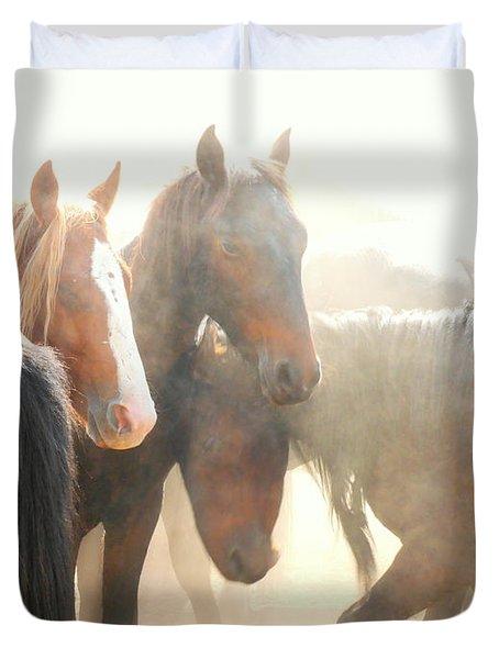 Wild Horses - Australian Brumbies 2 Duvet Cover
