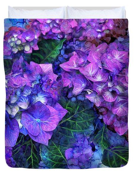 Wild Hydrangeas Duvet Cover