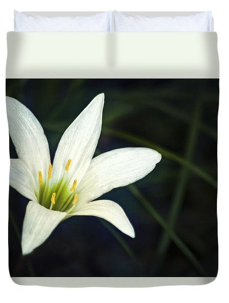 Wild Lily Duvet Cover by Carolyn Marshall