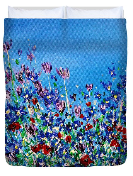 Wild Meadow Flowers Duvet Cover