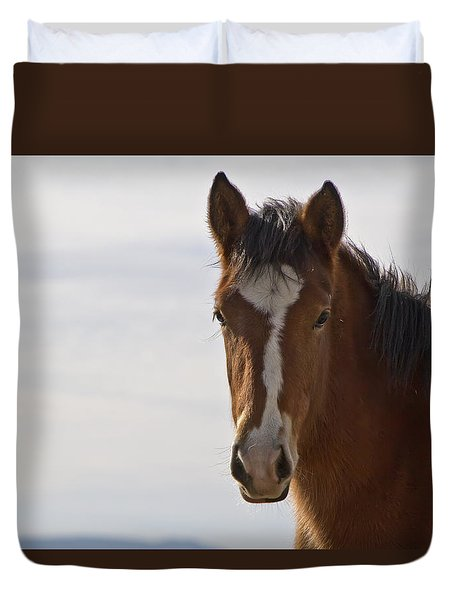 Wild Mustang Yearling Duvet Cover