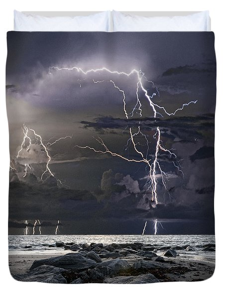 Wild Night Duvet Cover