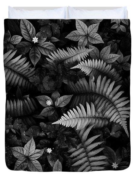Wild Plants Duvet Cover