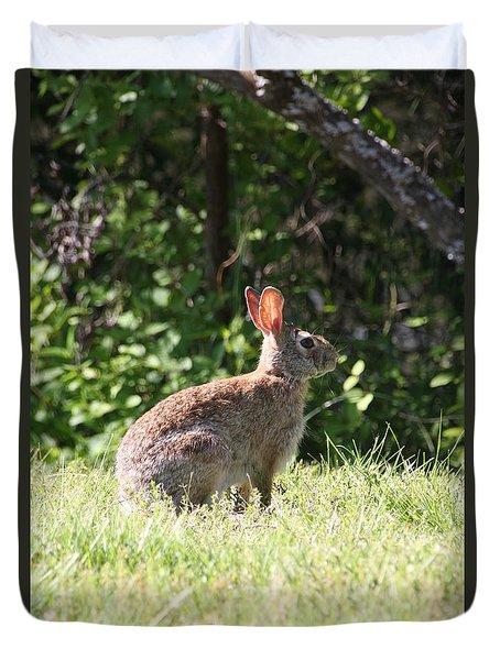 Wild Rabbit Duvet Cover