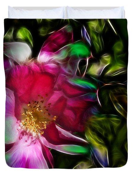 Wild Rose - Colors Duvet Cover by Stuart Turnbull