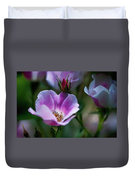 Wild Rose 7 Duvet Cover