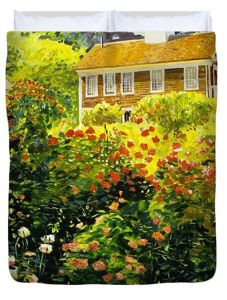 Wild Rose Country Duvet Cover