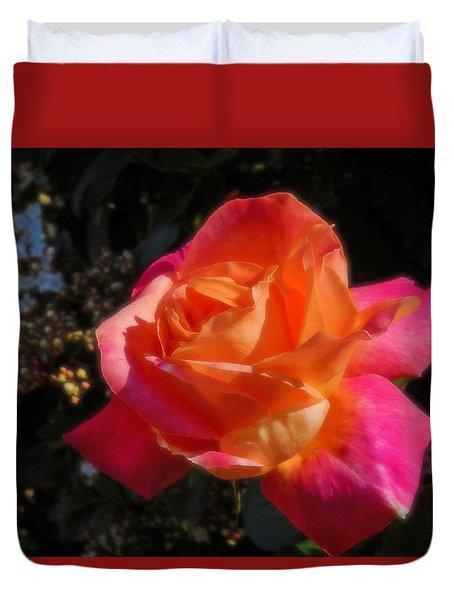 Wild Rose Duvet Cover by Mark Blauhoefer