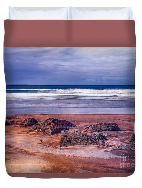 Sand Coast Duvet Cover