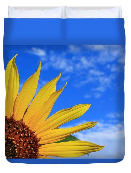 Wild Sunflower Duvet Cover