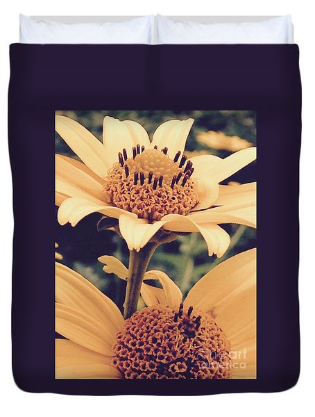 Wild Sunflowers Duvet Cover