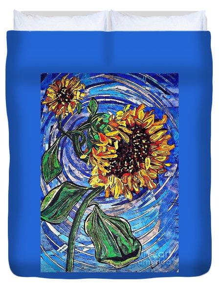 Wild Sunflowers Duvet Cover