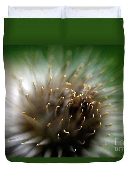 Wild Thing Duvet Cover by Lois Bryan