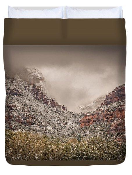 Boynton Canyon Arizona Duvet Cover