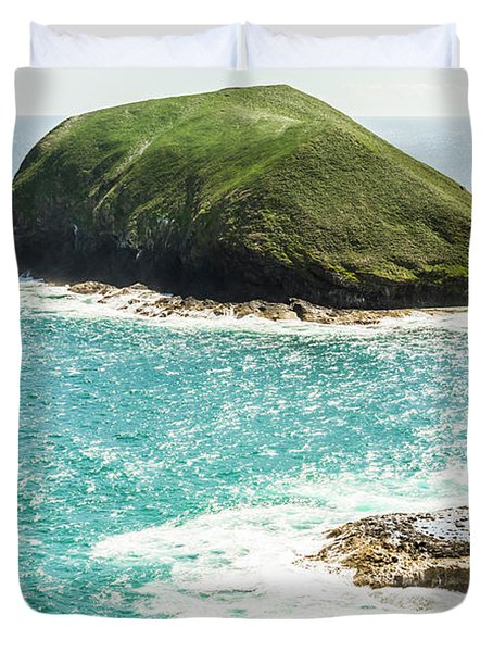 Wild Western Waters Duvet Cover