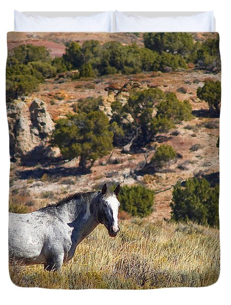 Wild Wyoming Duvet Cover
