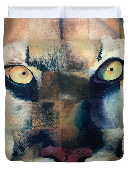 Wildcat Duvet Cover