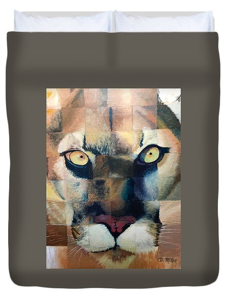 Wildcat Duvet Cover
