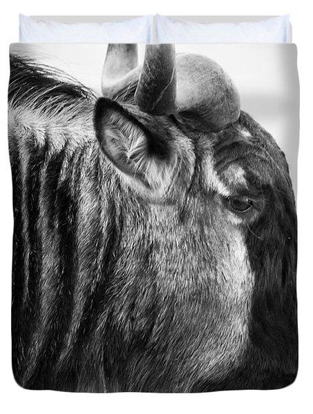 Wildebeest Duvet Cover by Adam Romanowicz