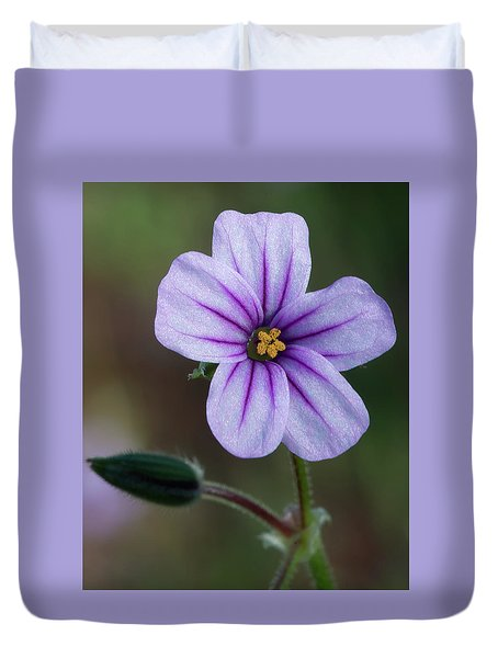 Wilderness Flower 3 Duvet Cover