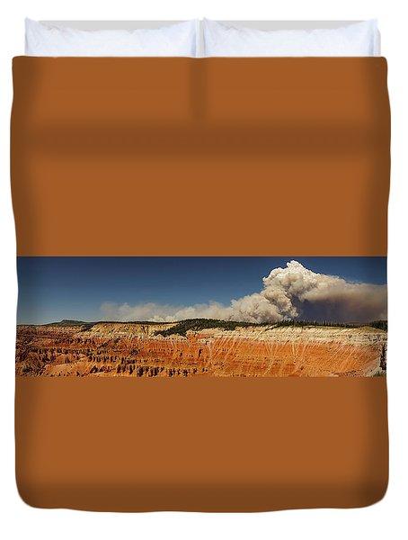 Wildfire Cedar Breaks National Monument Utah Duvet Cover