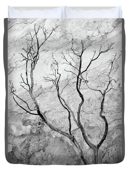 Wildfire Manzanita Duvet Cover