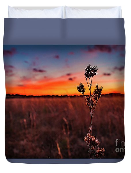 Wildfire Duvet Cover by Rivers Rudloff
