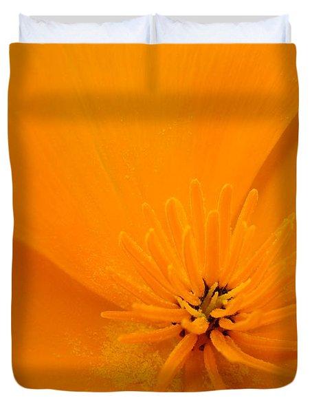 Wildflower Art Poppy Flower 6 Poppies Artwork Prints Cards Duvet Cover by Baslee Troutman