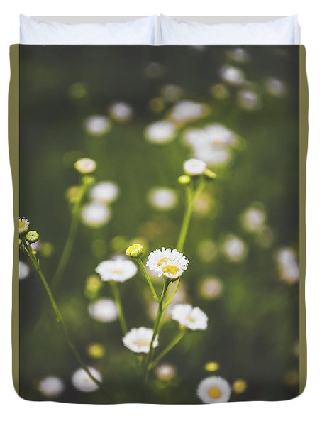 Duvet Cover featuring the photograph Wildflower Beauty by Shelby Young