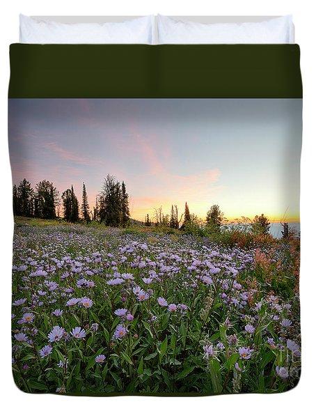 Wildflower Dawn Duvet Cover