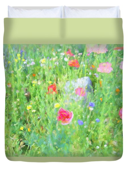 Wildflower Day Duvet Cover