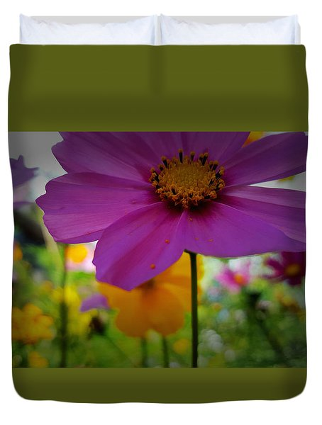 Wildflower Garden Duvet Cover