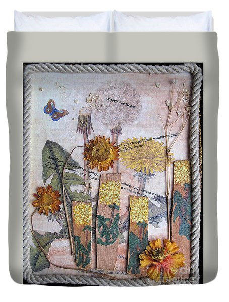 Wildflower Honey Duvet Cover