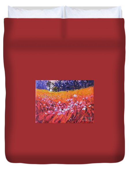 Wildflower I Duvet Cover