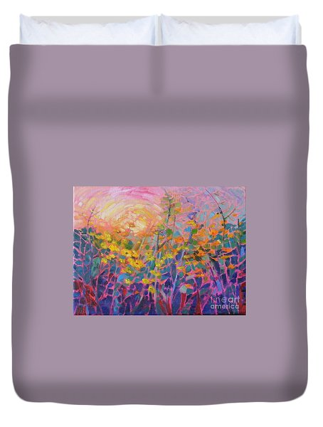 Wildflower II Duvet Cover