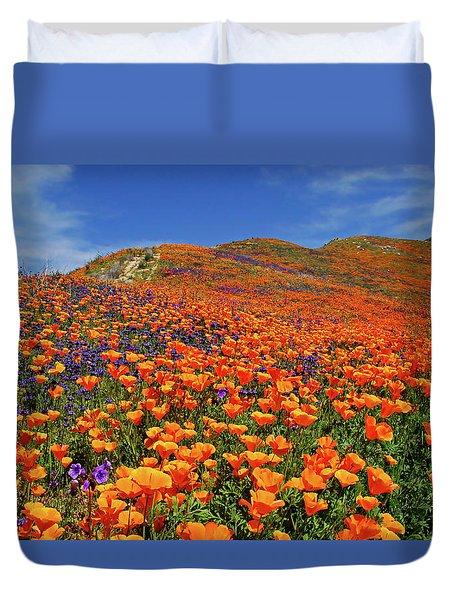 Wildflower Jackpot Duvet Cover