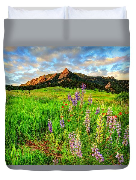 Wildflower Mix Duvet Cover