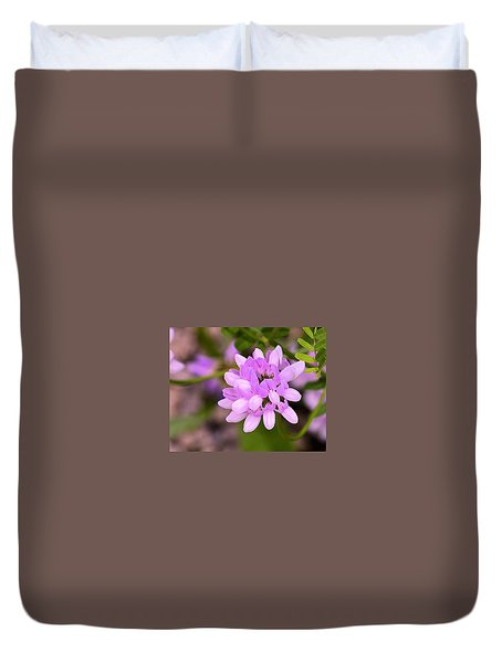 Wildflower Or Weed Duvet Cover by Kathy Eickenberg