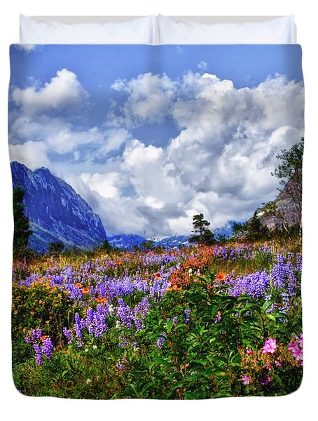 Wildflower Profusion Duvet Cover
