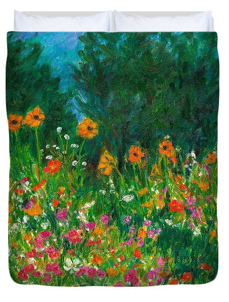 Wildflower Rush Duvet Cover