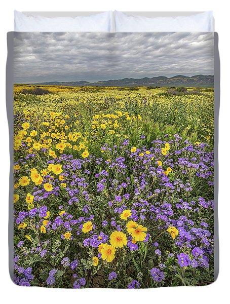 Wildflower Super Bloom Duvet Cover